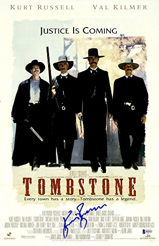 Kurt Russell Autographed Tombstone Movie Poster - Beckett