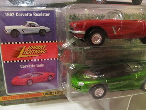 Ladies Roadster (Johnny Lightning Classic Customs Corvette: 1962 Corvette Roadster and Corvette Lady)