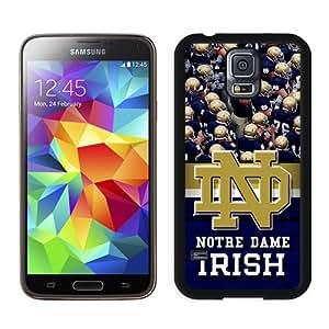 Hot Sale Samsung Galaxy S5 I9600 Case ,Beautiful Unique Designed Case With Notre Dame Irish Black Samsung Galaxy S5 I9600 Cover