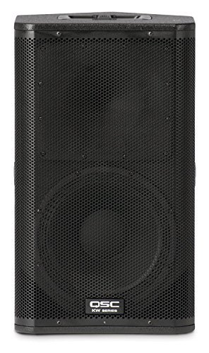 QSC KW122 2-Way Powered Loudspeaker (Pair) - QSC KW181 1000 Watts Powered Subwoofer (Pair) - XLR cables - Speaker Poles (ProSoundGear) Full Warranty.
