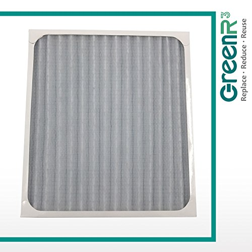 GreenR3 1-PACK HEPA Air Filters Air Purifiers for Hunter 30930 fits 30020 30393 30200 30201 30205 30250 30253 30255 30350 30374 30375 30377 30240 30241 30251 30378 30379 30381 30382 and more