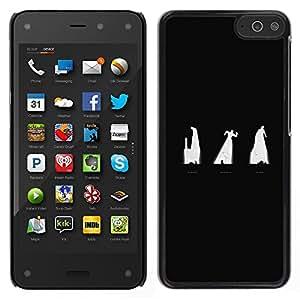 iKiki Tech / Estuche rígido - Oscuridad - Amazon Fire Phone