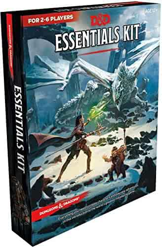 Wizards of the Coast Dungeons & Dragons Essentials Kit (D&D Boxed Set)
