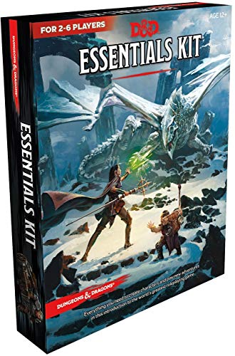 Wizards of the Coast Dungeons & Dragons Essentials Kit (D&D Boxed Set) (Team Usa Shop Com)