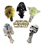 Star Wars Golf Head Cover Collector Series Set 460 cc (Yoda, Darth Vader, Chewbacca, R2D2, Storm Trooper), Outdoor Stuffs