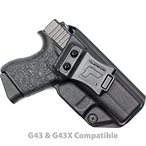 Tulster Glock 43/43X Holster IWB Profile Holster - Right Hand