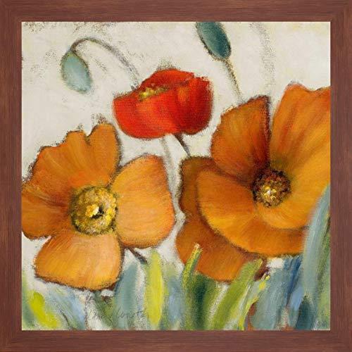 Poppy Splendor Square III by Lanie Loreth - 34