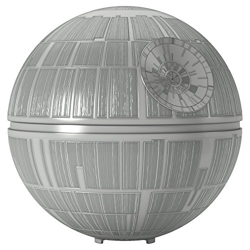 Hallmark Keepsake Christmas Tree Topper, Star Wars Death Star Lighted (Light Tree Topper)