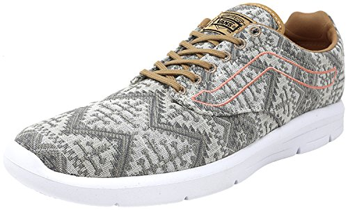 Vans Mens ISO 1.5 Low Top Lace up Fashion Sneakers Tan / White cheap sale largest supplier discount choice outlet locations sale online cheap under $60 4CdWu