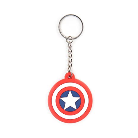 Marvel Llavero Captain America Logo: Amazon.es: Juguetes y ...