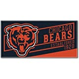 Chicago Bears Beach Towel measures 30 x 60 inches
