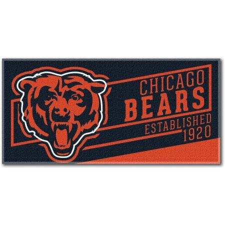 Chicago Bears Beach Towel measures 30 x 60 inches by The Northwest Company