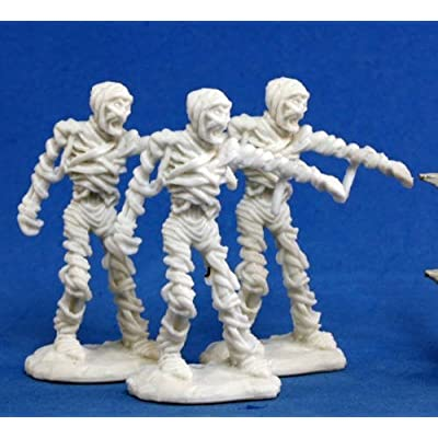 Reaper Mummy (3) Miniature: Toys & Games