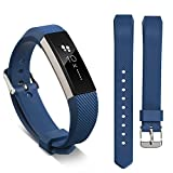 Ugood_ 2019 Replacement Wrist Band Silicon Strap for Fitbit Alta/Alta HR Smart Watch Bracelet (Navy)