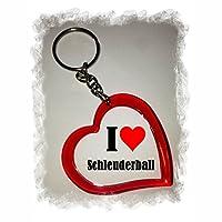 EXKLUSIV bei uns: Herz Schlüsselanhänger I Love Schleuderball, eine tolle...