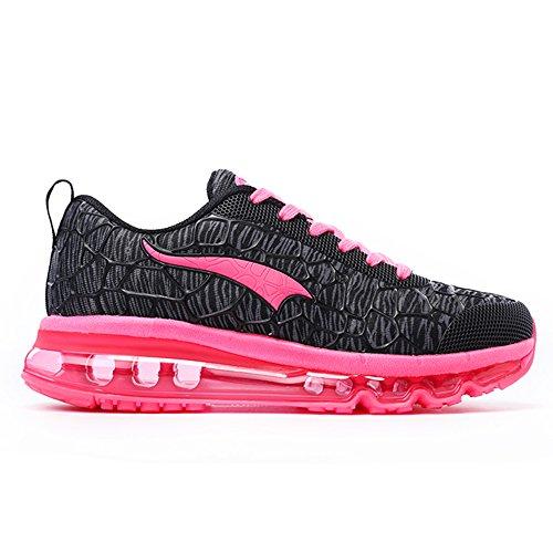 D'air Multi Femmes Des Sport Casual De De Formateurs Athlétique Chaussures Hommes Course Rose Fitness Les Noir Chaussures Jogging Pour Et Onemix gqX48aw