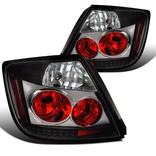 - Spec-D Tuning LT-TC04G2JM-TM Scion TC Base Spec 2 Door Coupe Black Housing Altezza Tail Lights Lamps