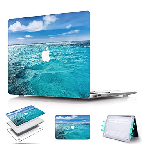 PapyHall MacBook Pro 15 inch Case 2018-2016 Release A1707/A1990 Plastic Shell Cover Only Compatible MacBook Pro 15