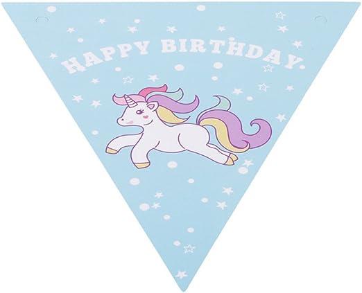 L_shop Unicornio - Disfraz de unicornio con palomitas de maíz para baby shower o fiesta de cumpleaños 14.5*16cm azul: Amazon.es: Hogar