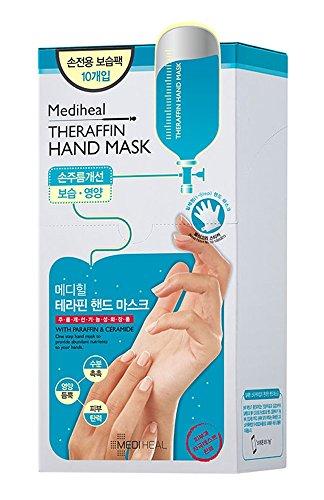 Mediheal Theraffin Moisturising Gloves Hand Mask Packs Sheets Korean Skin Care Cosmetics by Mediheal