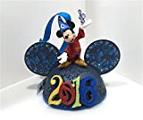 Disney Parks 2016 Light Up Mickey Mouse Ears Hat Ornament NEW