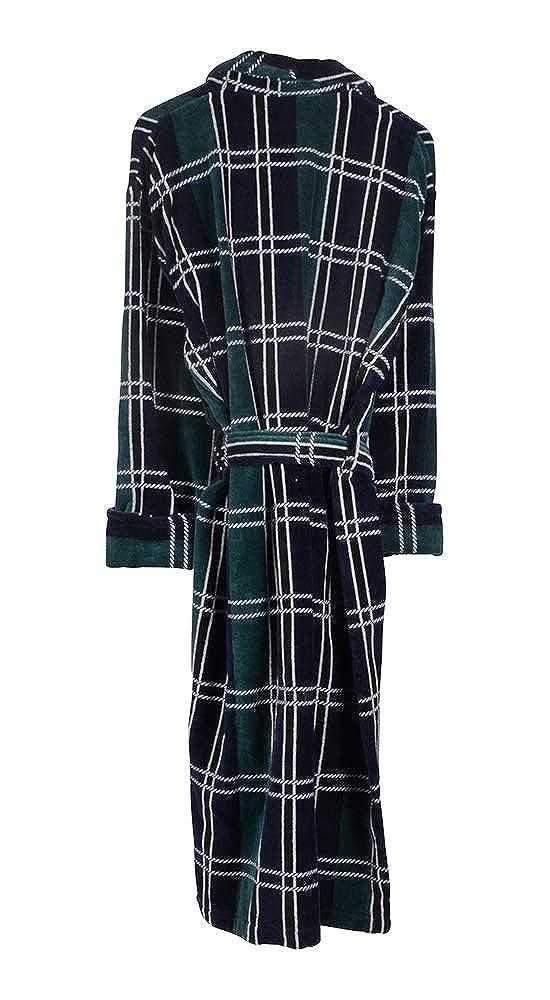Amazon.com  Bown of London Mens Perth 100% Egyptian Cotton Plush Shawl  Collar Luxury Bathrobe - Large  Clothing f9d6964b6