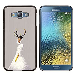 Stuss Case / Funda Carcasa protectora - Cuernos de la bailarina - Samsung Galaxy E7 E700