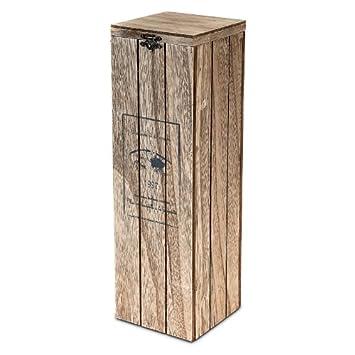 caja de madera para botella de vino