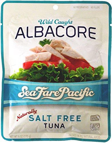 Oregon Sea Fare Pacific Salt Free Tuna--4 Pack