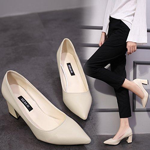 Qiqi para Xue Mujer de Tal Zapatillas Corte 6wqqdnU1