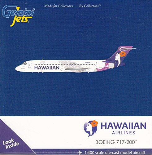 GEMGJ1651 1:400 Gemini Jets Hawaiian Boeing 717-200 Reg #N488HA (Boeing Jet)