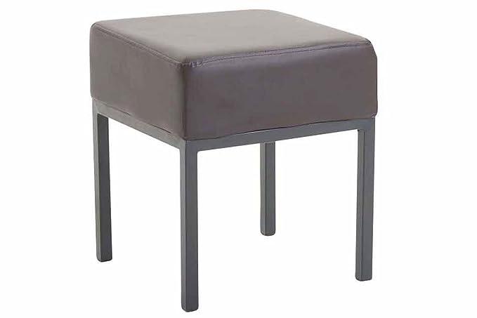 Clp poggiapiedi da divano newton in similpelle sgabello basso da
