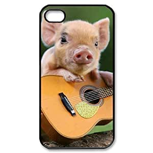 ALICASE Diy Customized hard Case Little Pig For Iphone 4/4s [Pattern-1]