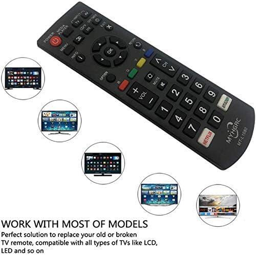 MYHGRC Mando Universal TV Aplicar para Panasonic LCD LED 3D HD Smart TV; No es Necesario configurar un Control Remoto Universal de TV: Amazon.es: Electrónica