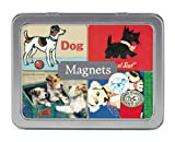 Cavallini Vintage Dogs 24 Assorted Magnets