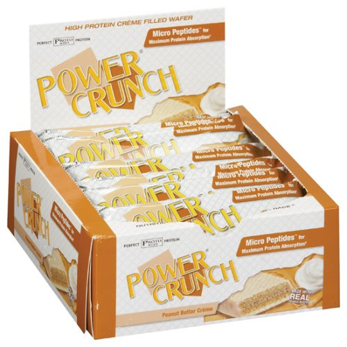 BioNutritional Research Group - Power Crunch Peanut Butter Creme, 12 bars