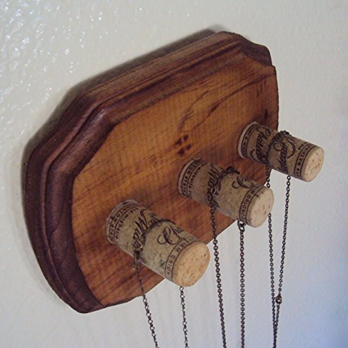 Bohemian Necklace Holder - Rustic Boho Chic Jewelry Display