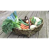 Nutley's Rustic Large Willow Vegetable Trug Basket