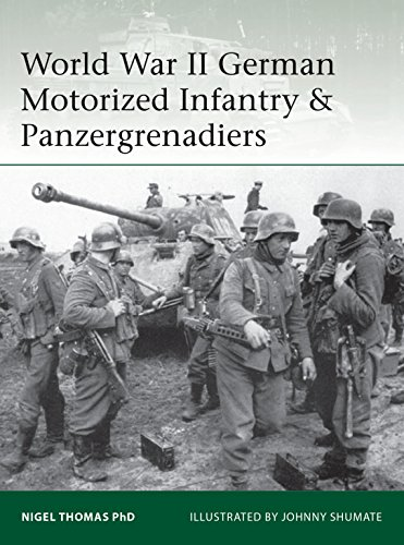 World War II German Motorized Infantry & Panzergrenadiers (Elite Book 218)