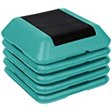 Trademark Innovations High Step Work Out Training Device-Set of 4 Risers-By Blue Ridge Fitness