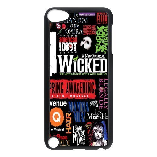 Broadway Phantom of the Opera wicked cat jigsaw Ipod touch 5 hard plastic case