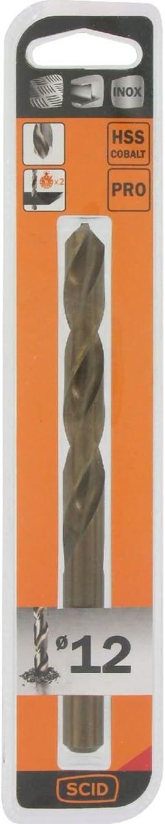 Foret m/étal HSS cobalt SCID Longueur 150 mm Diam/ètre 12 mm
