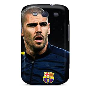 High Quality Shock Absorbing Case For Galaxy S3-the Best Player Of Barcelona Victor Valdes