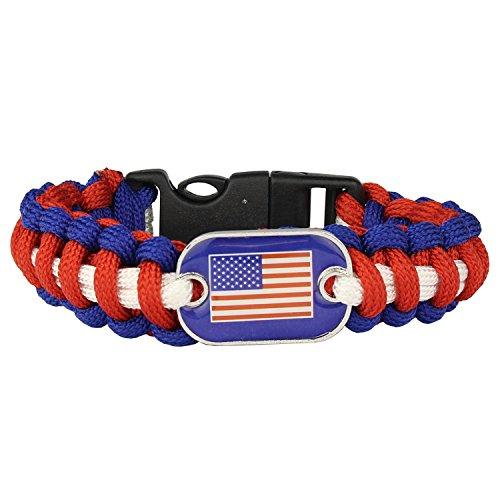 united states flag bracelet - 7
