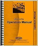 KU-O-LDR BF400 New Operators & Parts Manual For Kubota Loader Model BF400-PQ