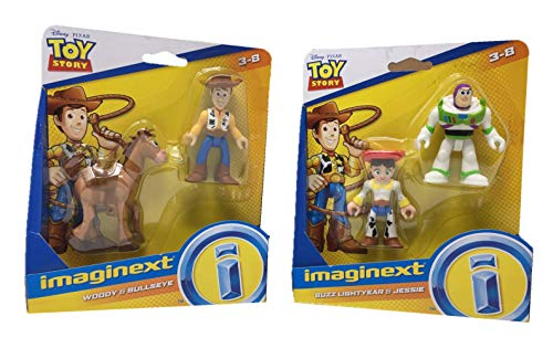 Imaginext Disney Pixar Toy Story Toys Bundle Set