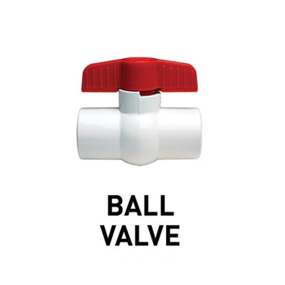 Lifegard Aquatics ARP175080 Threaded Ball Valve for Aquraium Pumps, 3 4-Inch