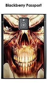 Carcasa Blackberry Passport Design Skull