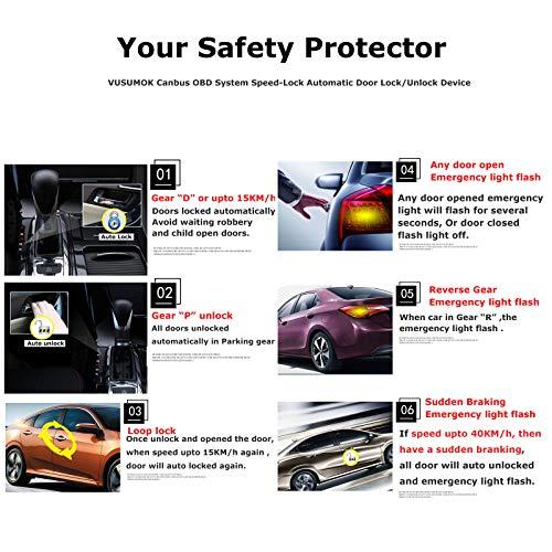 Amazon Com Vusumok Auto Door Speed Lock Parking Unlock Device