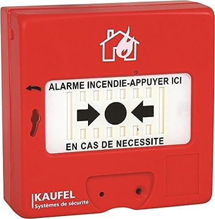 Kau kau534115 pulsador Manual limpiaparabrisas, 240 V, rojo
